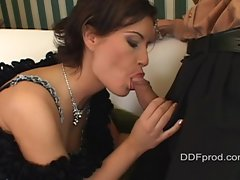 Lora Craft's best craft is pole polishing with her lips and tongue