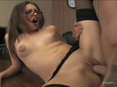 When Missy Stone is fucked hard she moans with delight