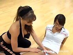 Super slut Vanessa Lane warming up for some lesbian action