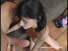 Kayden Fay gets a hard cock slammed into her cunt