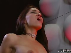 Sexy hot Ann Marie gets wet and wild with her girlfriends shaved pussy
