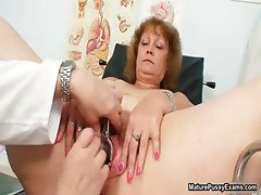 Dirty doctor fucking his mature patient