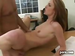 Riley Shy In The Office