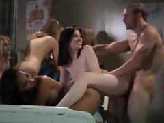 A hospital orgy with hot nurses