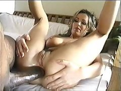 Dude has a monster black dick for her ass