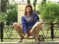 Using sex toys in a public park