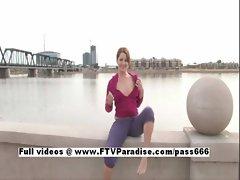 Jade Tender Girl Naked In Public
