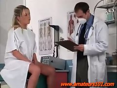 Doctor Is Seduced By a Gorgeous Blonde