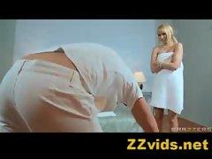 ZZvids.net presents: Aleska Diamond in Dirty Masseur