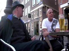 Tourist wants to get an Amsterdam hooker
