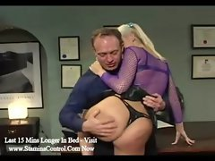 Blonde student pounded by teacher and fucked