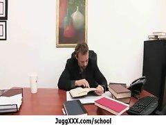 School teacher getting fucked really hard : Big Tits At School movie 6