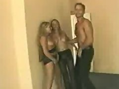 Guy nails two hot blondes