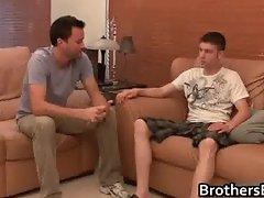 Brothers hot boyfriend gets cock sucked part5