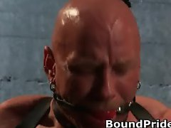 Brenn and Chad in extreme gay bondage part4