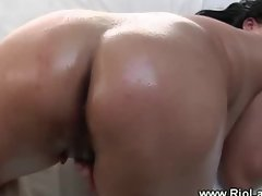 Chica plays with her pussy for guys pleasure