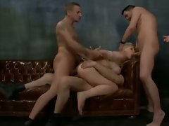 Brutal BDSM Double Penetration Gangbang! vol.21 By: FTW88
