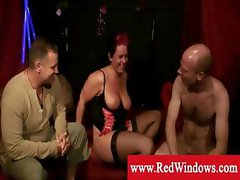 Mature hooker takes load in the mouth