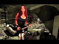 Sabrina Sabrok The Blitzkrieg Bop, Rockstar Largest Breast