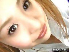 Amazing Japanese idol Yui Aoyama showing part5
