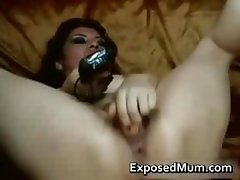 Pussy wide open with tight Latina MILF part4