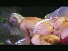 Barbara Summers getting all her tight holes fucked roughly