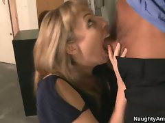 Adrianna Nicole loves a massive boner ripping off her awesome mouth