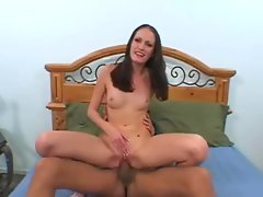 Sexy Hailey Young gets her pussy stretched by a monstrous cock