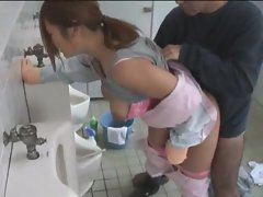asian fuck in toilet 2