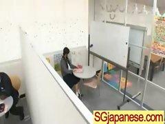 Asians Teen Girls In School Uniform Get Hard Sex clip-26