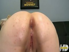 Klaudia Kelly anal and creampie