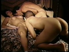 Vintage Bisexual MMF Threesome