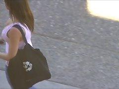 Street Candid NN Down blouse 09