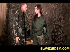 Wayward soldier disciplines subordinate