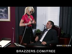 Brazzers - Blond busty secretary Alexis Ford fucks her boss
