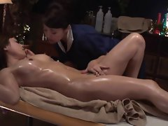 Lesbian Oil Massage Luxury Married TAMAKI