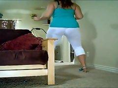 white tight leggings