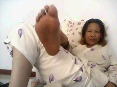 Chinese Mature Webcam Feet