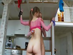 18yo russian coeds playing with toys