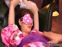 Erika Kirihara is a beautiful large big part5