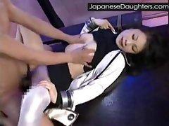 Japanese daughter first gape
