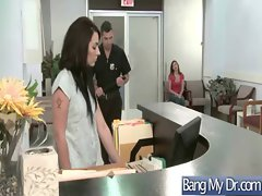 In Doctor Office Hot Girls Get Hard Fucked clip-26