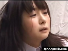 Hot Young Japanese babes Fuck In Public video-09