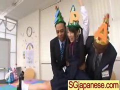 Asians Teen Girls In School Uniform Get Hard Sex clip-33