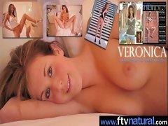 Amateur Teen Girls Masturbating With Dildos clip-36