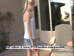 Katelynn tender adorable woman woman teasing pussy