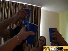 Party Teen Girls Get Hardcore Sex clip-11