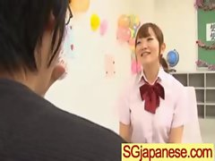 Asians Teen Girls In School Uniform Get Hard Sex clip-07