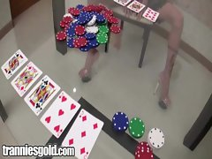 Tranniesgold Queen of Hearts