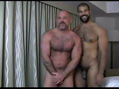 Interracial loversx - hairy hot men